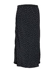 Print Midi Skirt - DOT PRINT