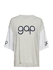 Gap Retro Gw Tee T-shirts & Tops Short-sleeved Grå GAP