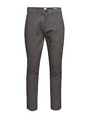 Modern Khakis in Skinny Fit with GapFlex - SOFT BLACK