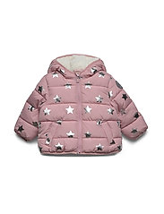 Toddler ColdControl Max Puffer - PINK STARS