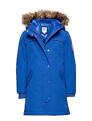 Kids ColdControl Ultra Max Down Parka - BRIGHT BLUE