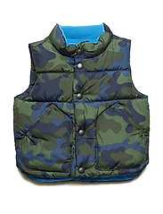 Toddler ColdControl Max Vest - GREEN CAMO