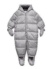 Baby ColdControl Ultra Max Down Snowsuit - FLINT GREY