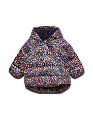 Baby ColdControl Max Kimono Jacket - NAVY FLORAL