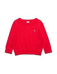 Toddler Brannan Bear Sweater - PURE RED V2