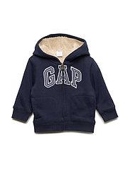 Toddler Gap Logo Sherpa Sweatshirt - BLUE GALAXY