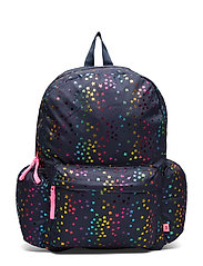 Kids Foil Star Senior Backpack - NAVY UNIFORM