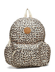 G Leopard Bkpk Accessories Bags Backpacks Beige GAP