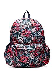Kids Floral Senior Backpack - NAVY FLORAL