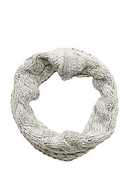 Kids Cable-Knit Neckwarmer - B10 GREY HEATHER