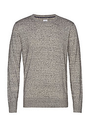 Mainstay Crewneck Sweater - HEATHER GREY
