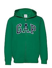 Gap Arch Logo Hoodie - GREEN SHADE 183