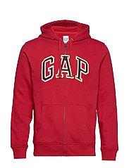 Gap Arch Logo Hoodie - LASALLE RED