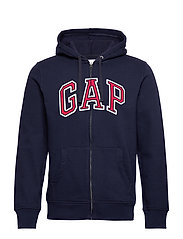 Gap Arch Logo Hoodie - TAPESTRY NAVY