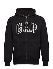 Gap Arch Logo Hoodie - TRUE BLACK V2 2