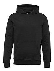 Vintage Soft Pullover Hoodie - TRUE BLACK V2 2