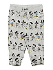 babyGap | Disney Mickey Mouse Joggers - LIGHT GREY HEATHER