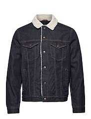 V-DENIM ICON SHERPA - RINSE - RINSED