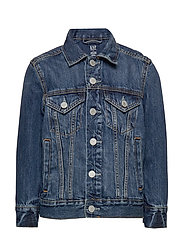 Kids Denim Icon Jacket - MEDIUM WASH