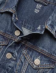 GAP - Kids Denim Icon Jacket - denimjakker - medium wash - 2