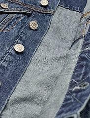 GAP - Kids Denim Icon Jacket - denimjakker - medium wash - 4
