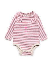 Baby Brannan Bear Bodysuit - PINK STRIPE 8172-1