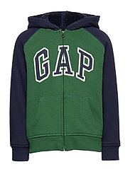 Kids Cozy-Lined Gap Logo Sweatshirt - GREEN GABLES