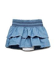 Toddler Chambray Flutter Skirt - CHAMBRAY 042