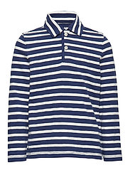 LS JERSEY POLO - TAPESTRY NAVY