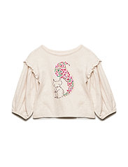 Toddler Ruffle-Sleeve Graphic T-Shirt - B2621