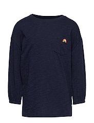Kids Balloon-Sleeve Pocket T-Shirt - NAVY UNIFORM