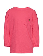 Kids Balloon-Sleeve Pocket T-Shirt - PINK LIGHT