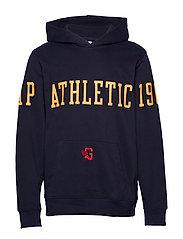 Gap Athletic Logo Hoodie - TAPESTRY NAVY