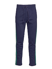 Varsity Stripe Sweatpants - TAPESTRY NAVY