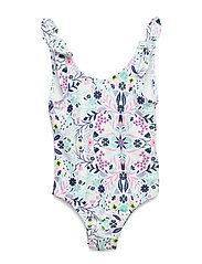Toddler Floral Swim One-Piece - FLORAL PRINT