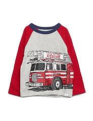 Toddler Graphic T-Shirt - LIGHT HEATHER GREY V6