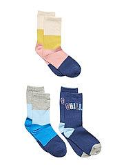 Kids Chill Crew Socks (3-Pack) - MULTI