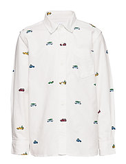 Kids Oxford Button-Down Shirt - NEW OFF WHITE