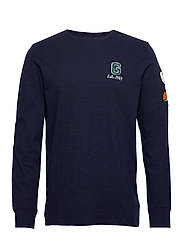 LS G PATCH T - TAPESTRY NAVY