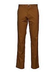 Original Khakis in Straight Fit with GapFlex - PALOMINO BROWN GLOBAL