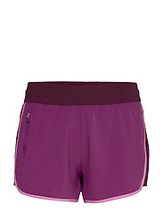 GapFit Colorblock Shorts - PURPLE WINE