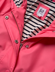 GAP - Kids Jersey-Lined Raincoat - jassen - pink pop neon - 2