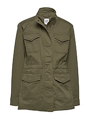 Kids Utility Jacket - IGUANA GREEN