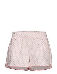 Print Shorts in Poplin - CORAL SHELLS