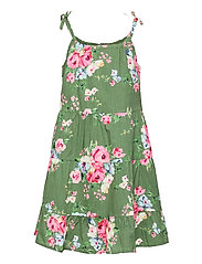 Girls Tiered Floral Dress - TWIG