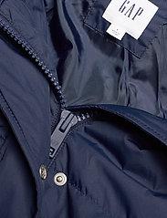 GAP - JAC LONG DOWN JACKET W/ FUR - padded coats - navy uniform - 2