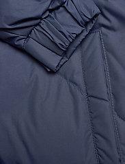 GAP - JAC LONG DOWN JACKET W/ FUR - padded coats - navy uniform - 3