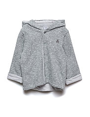 WH REV HOODY - LIGHT GREY MARLE