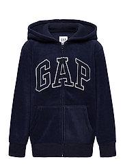 Kids Gap Logo Hoodie - TAPESTRY NAVY