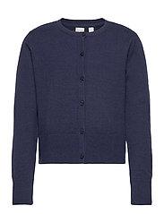 Kids Cardigan Sweater - NAVY UNIFORM